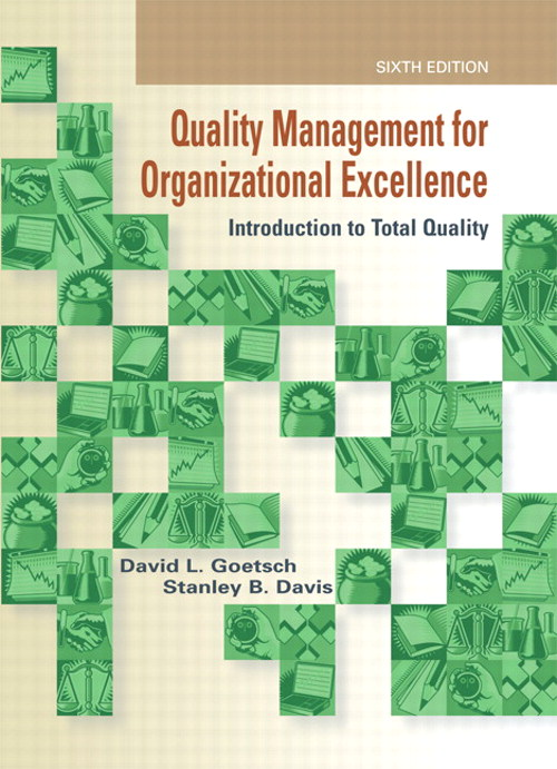 Quality Management for Organizational Excellence: Introduction to Total Quality, CourseSmart eTextbook, 6th Edition