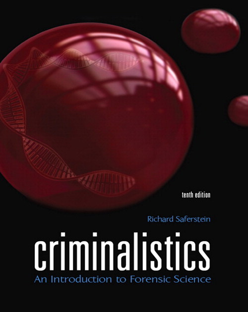 Criminalistics: An Introduction to Forensic Science, CourseSmart eTextbook, 10th Edition