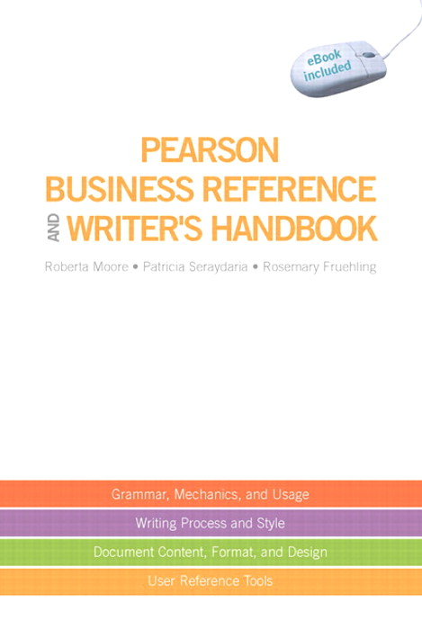 Pearson Business Reference and Writer's Handbook, CourseSmart eTextbook