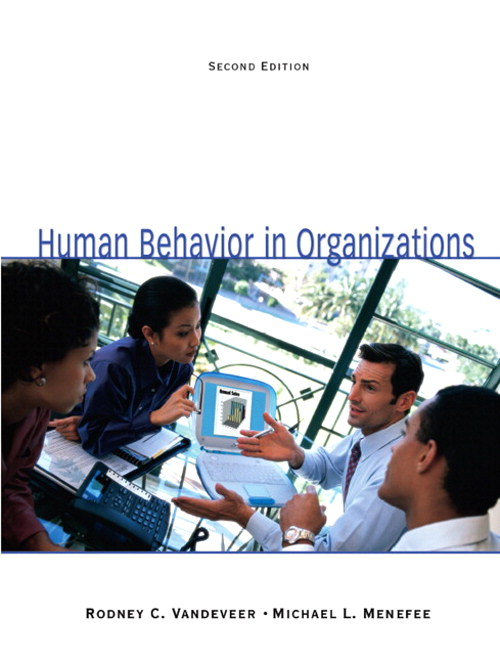 Human Behavior in Organizations, CourseSmart eTextbook, 2nd Edition
