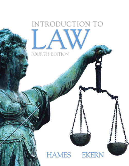Introduction to Law, CourseSmart eTextbook, 4th Edition
