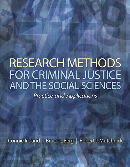 Research Methods for Criminal Justice and the Social Sciences, CourseSmart eTextbook