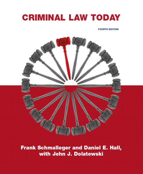 Criminal Law Today, CourseSmart eTextbook, 4th Edition