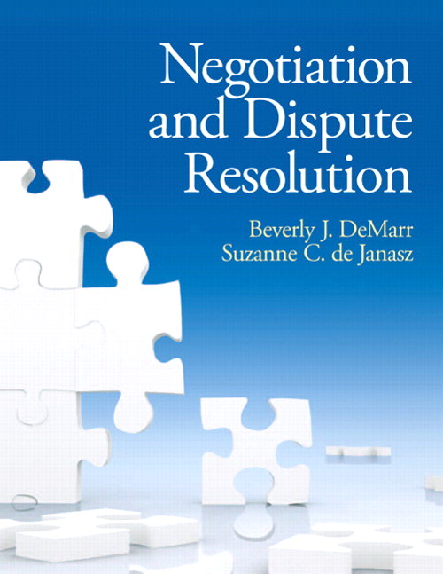 Negotiation and Dispute Resolution, CourseSmart eTextbook