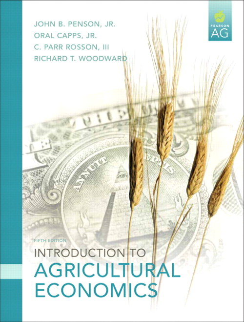 Introduction to Agricultural Economics, CourseSmart eTextbook, 5th Edition