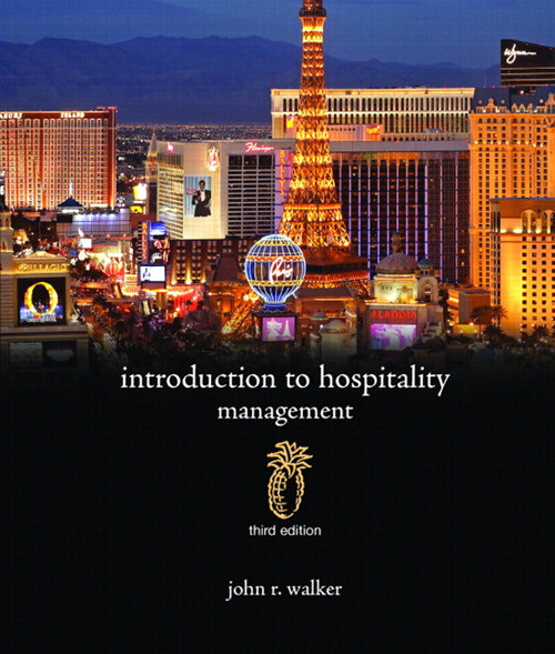 Introduction to Hospitality Management, CourseSmart eTextbook, 3rd Edition