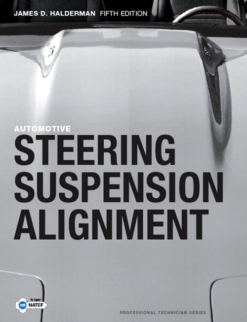 Automotive Steering, Suspension and Alignment, CourseSmart eTextbook, 5th Edition