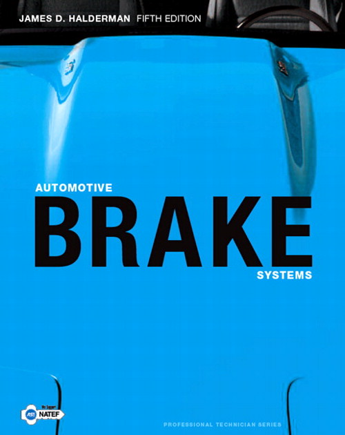 Automotive Brake Systems, CourseSmart eTextbook, 5th Edition