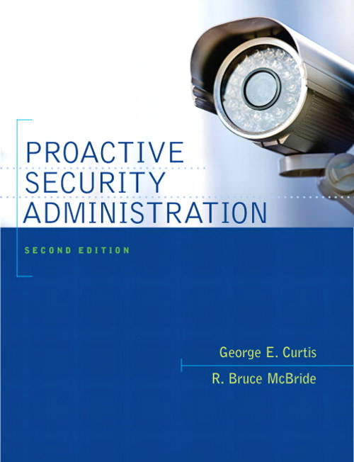 Proactive Security Administration, CourseSmart eTextbook, 2nd Edition