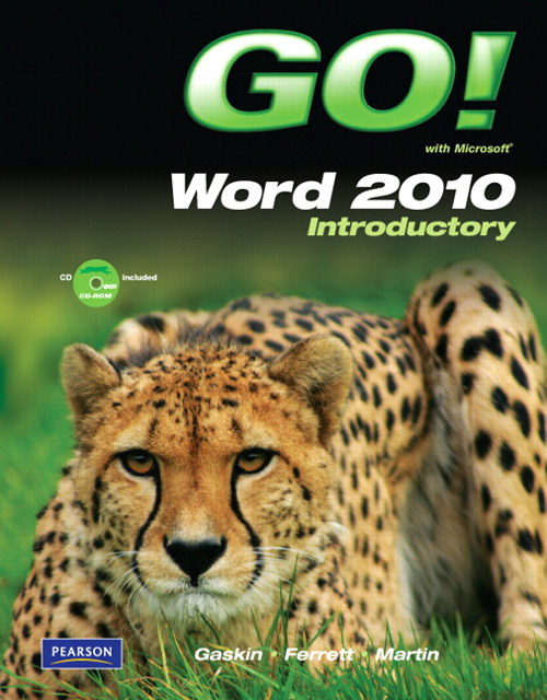 GO! with Microsoft Word 2010 Introductory, CourseSmart eTextbook