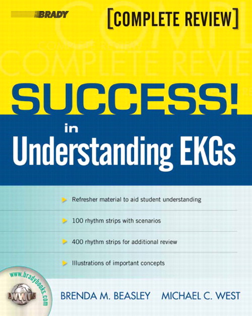 SUCCESS! in Understanding EKGs, CourseSmart eTextbook