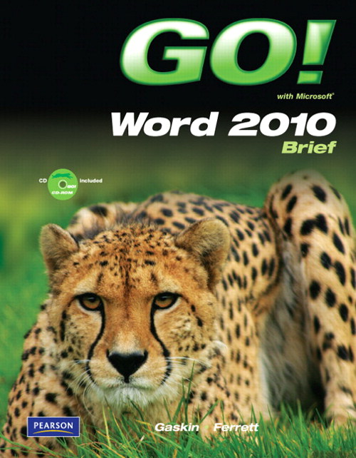 GO! with Microsoft Word Brief, CourseSmart eTextbook