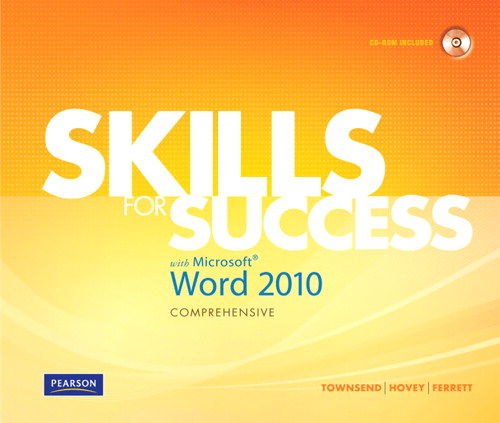 Skills for Success with Microsoft Word 2010 Comprehensive, CourseSmart eTextbook