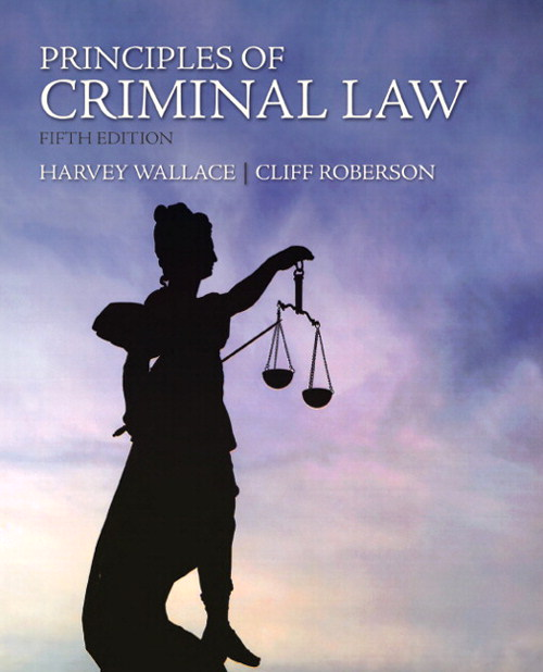 Principles of Criminal Law, CourseSmart eTextbook, 5th Edition