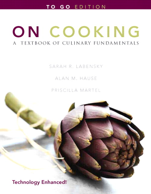 "On Cooking: A Textbook of Culinary Fundamentals ""To Go"", 5th Edition"