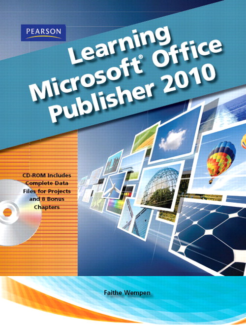 Learning Microsoft Office Publisher 2010, Student Edition, CourseSmart eTextbook