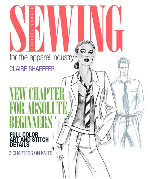 Sewing for the Apparel Industry, CourseSmart eTextbook, 2nd Edition