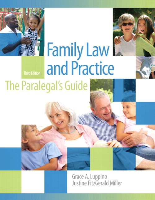 Family Law and Practice, 3rd Edition