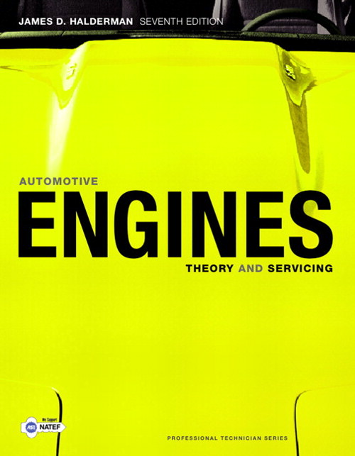 Automotive Engines: Theory and Servicing, CourseSmart eTextbook, 7th Edition