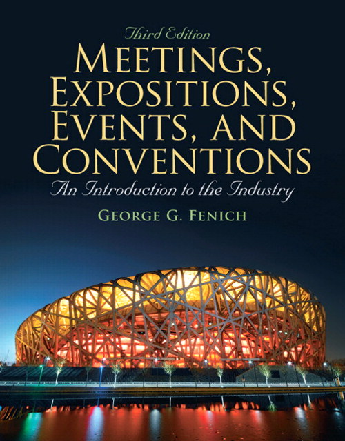 Meetings, Expositions, Events & Conventions, CourseSmart eTextbook, 3rd Edition