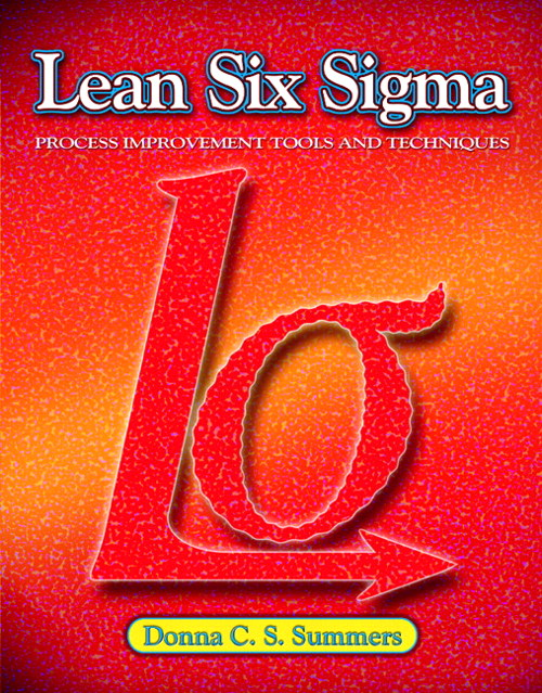 Lean Six Sigma, CourseSmart eTextbook