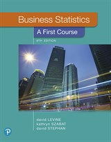 Business Statistics: A First Course, 8th Edition