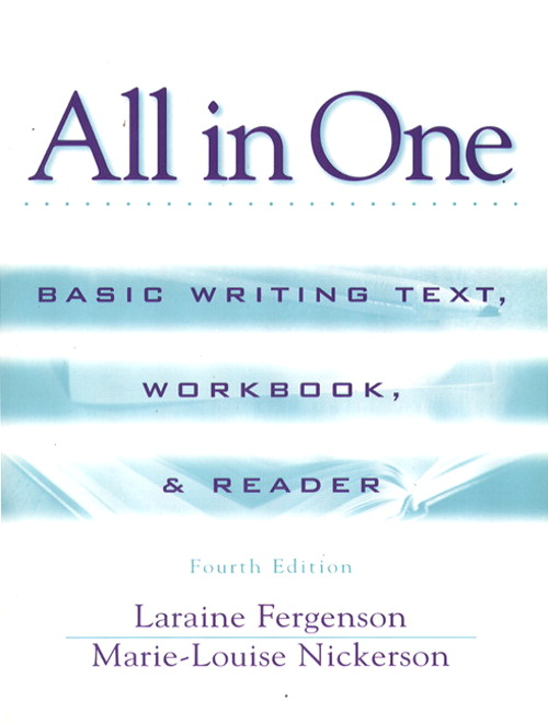 All in One: Basic Writing Text, Workbook, and Reader, 4th Edition
