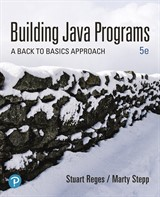 Building Java Programs: A Back to Basics Approach Plus MyLab Programming with Pearson eText -- Access Card Package, 5th Edition
