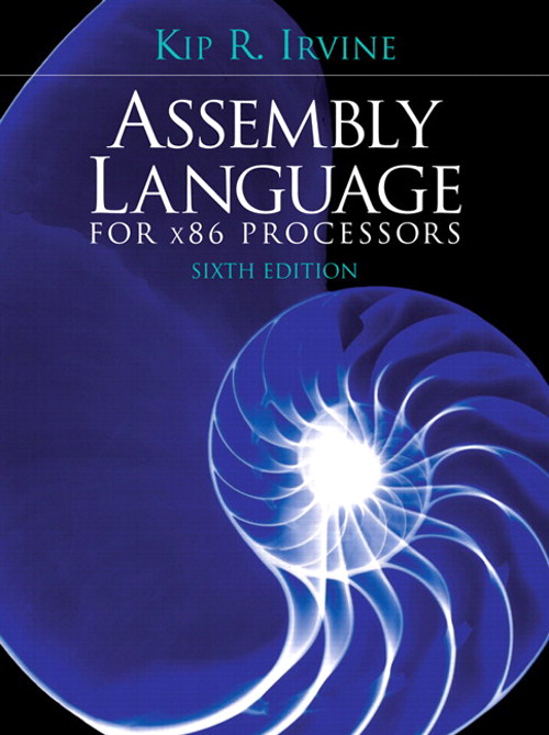 Assembly Language for x86 Processors, CourseSmart eTextbook, 6th Edition