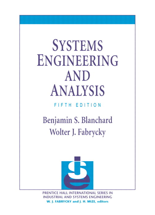 Systems Engineering and Analysis, CourseSmart eTextbook, 5th Edition