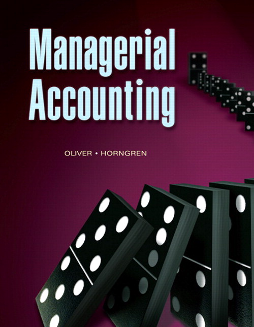 Managerial Accounting, CourseSmart eTextbook