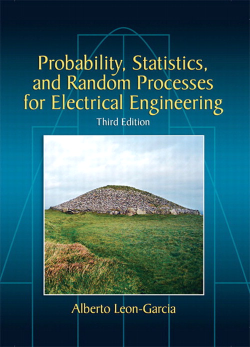 Probability, Statistics, and Random Processes for Electrical Engineering, Coursesmart eTextbook, 3rd Edition