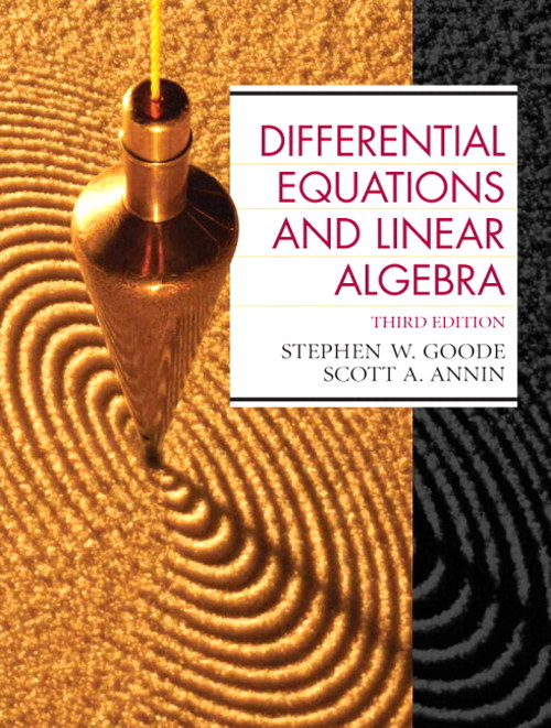 Differential Equations and Linear Algebra, CourseSmart eTextbook, 3rd Edition
