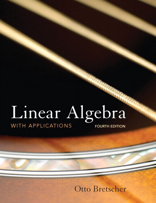 Linear Algebra with Applications, CourseSmart eTextbook, 4th Edition