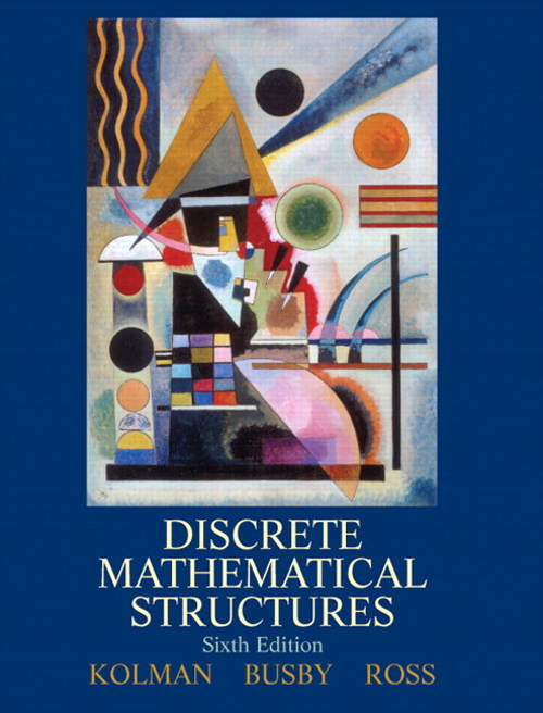 Discrete Math Structures, CourseSmart eTextbook, 6th Edition