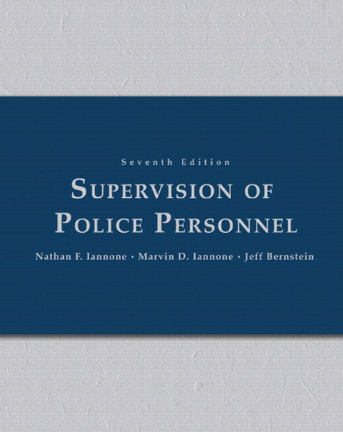 Supervision of Police Personnel, CourseSmart eTextbook, 7th Edition