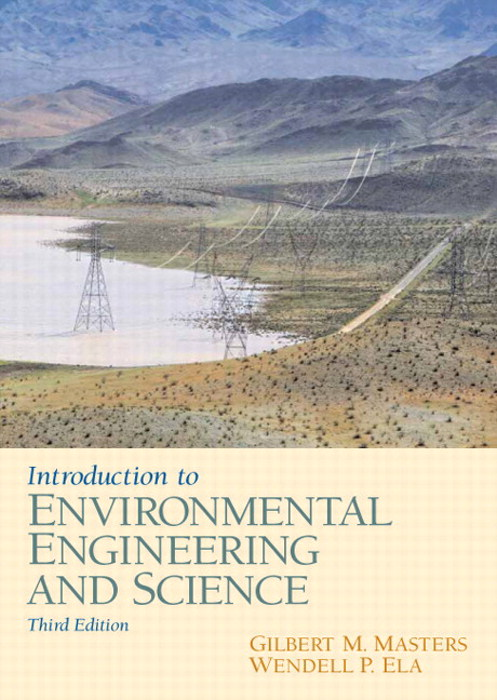 Introduction to Environmental Engineering and Science, CourseSmart eTextbook, 3rd Edition