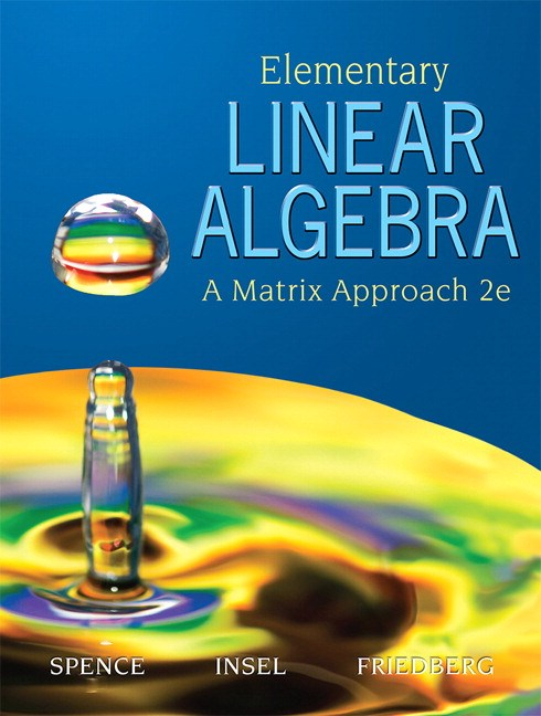 Elementary Linear Algebra, CourseSmart eTextbook, 2nd Edition