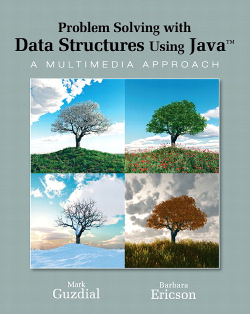 Problem Solving with Data Structures Using Java: A Multimedia Approach, CourseSmart eTextbook