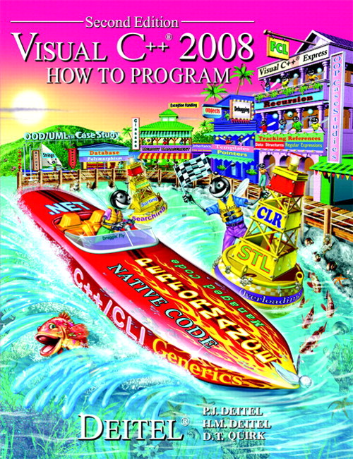 Visual C++ 2008 How to Program, CourseSmart eTextbook, 2nd Edition