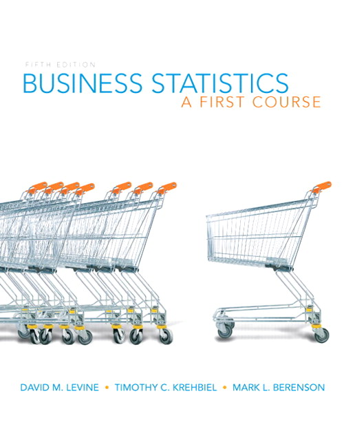 Business Statistics: A First Course, CourseSmart eTextbook, 5th Edition
