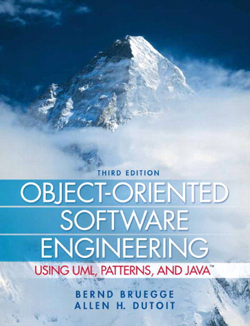 Object-Oriented Software Engineering Using UML, Patterns, and Java, CourseSmart eTextbook, 3rd Edition