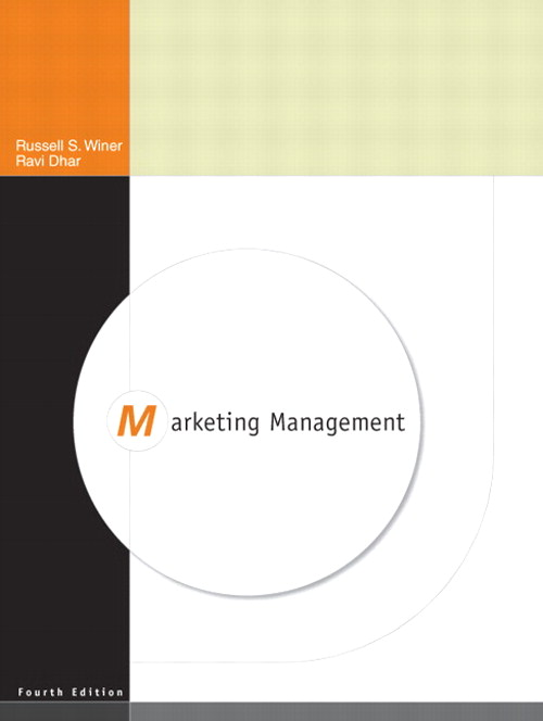 Marketing Management, CourseSmart eTextbook, 4th Edition
