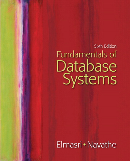 Fundamentals of Database Systems, CourseSmart eTextbook, 6th Edition