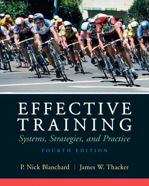 Effective Training, CourseSmart eTextbook, 4th Edition