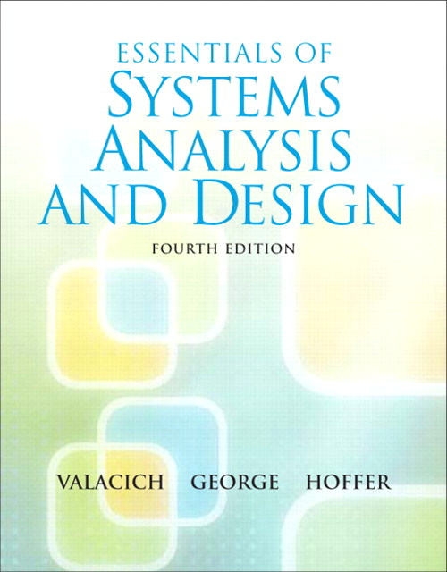 Essentials of System Analysis and Design, CourseSmart eTextbook, 4th Edition