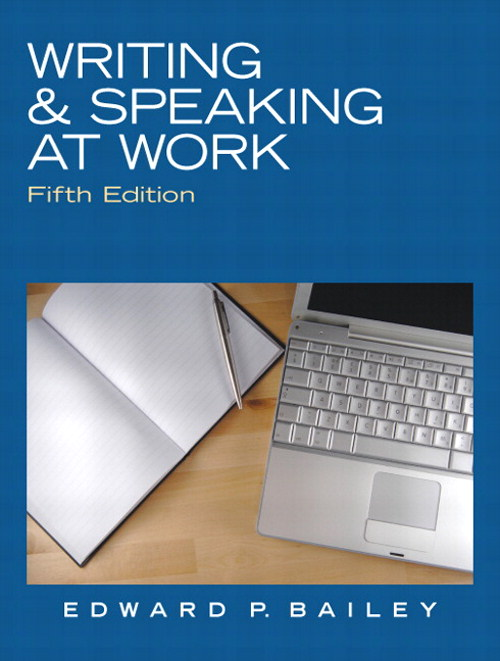 Writing & Speaking at Work, CourseSmart eTextbook, 5th Edition