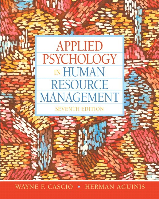 Applied Psychology in Human Resource Management, CourseSmart eTextbook, 7th Edition