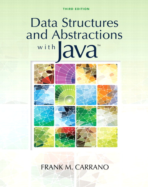 Data Structures and Abstractions with Java, CourseSmart eTextbook, 3rd Edition