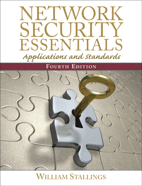 Network Security Essentials: Applications and Standards, CourseSmart eTextbook, 4th Edition